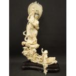 象牙細密彫刻