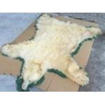 白熊の敷皮