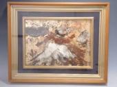 此木 三男の風景画『白峰之富士』
