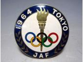 JAF 1964年 東京オリンピック開催記念 カーバッジ