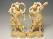 金剛力士像 阿形・吽形 木彫