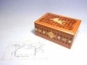 二宮義之 天馬木象嵌貼七回秘密箱