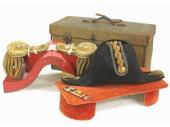 旧日本軍 海軍中佐 礼服帽 肩章