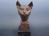 中村直人 猫のブロンズ像