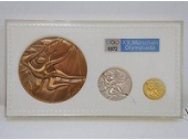 ミュンヘン五輪公式記念メダル 岡本太郎