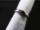 4℃ プラチナダイヤモンドリング
