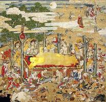 仏教絵画~仏涅槃図【2016年買取...