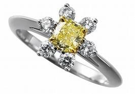イエローダイヤモンドの買取について