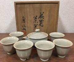 萩・泉流山窯の茶器入荷致しております‼