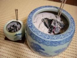 火鉢の活用法
