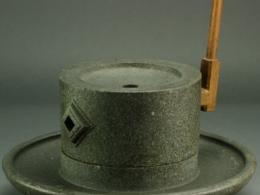 石臼と抹茶