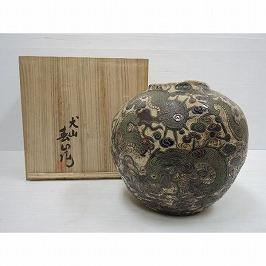 犬山焼花瓶