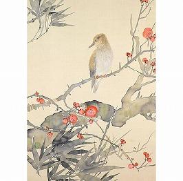 梅竹黄鳥図