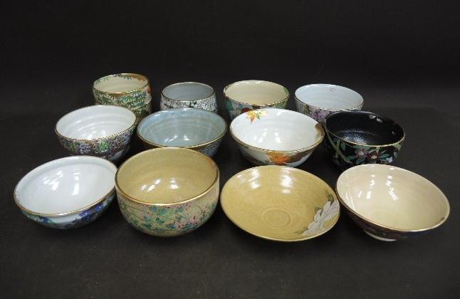 御所の花 十二ヶ月 抹茶茶碗コレクション