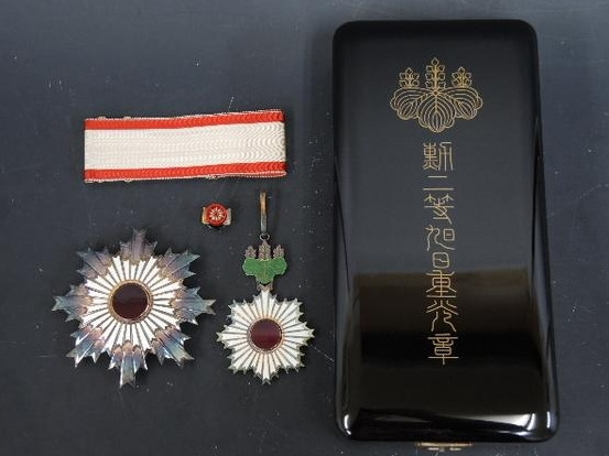 勲二等旭日重光章】日本刀・甲冑...