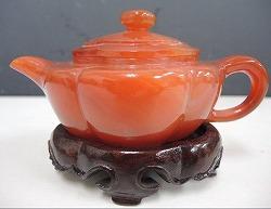 赤瑪瑙 茶壺