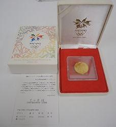 長野五輪冬季競技大会記念 金貨