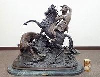 アントワーヌ・ルイ・バリー ブロンズ像