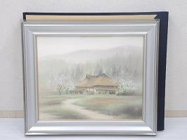 小林司 日本画「郷の春」